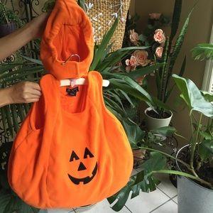 Adorable baby pumpkin costume